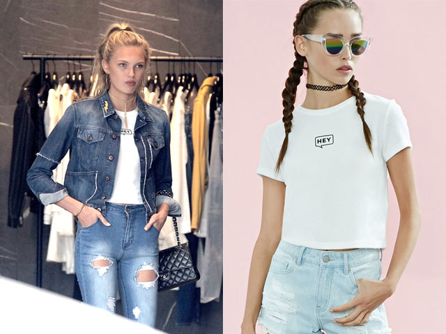 Romee Strijd in Forever 21