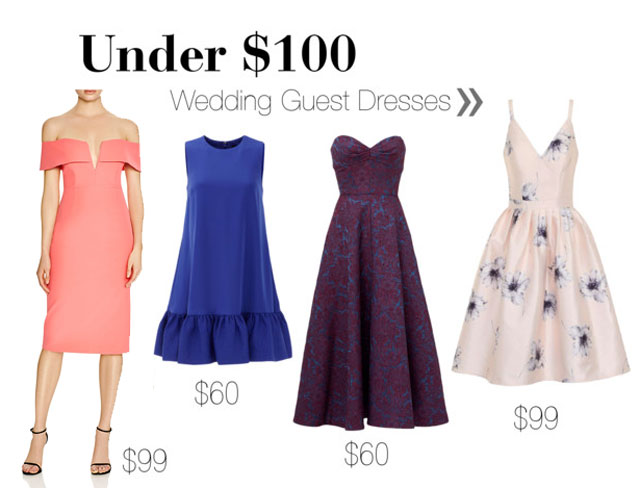 ae42eddf47376 Lauren's Picks: Wedding Guest Dresses Under $100 - The Budget Babe ...