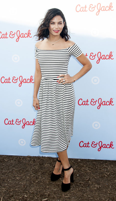 Celebrities celebrate the Cat & Jack kids' clothing launch party hosted by Target.