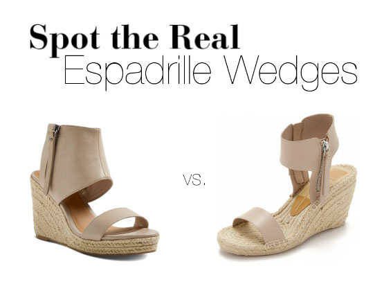 66b2e80a7d4e Spot the Real  Dolce Vita  Gisele  Espadrille Wedges