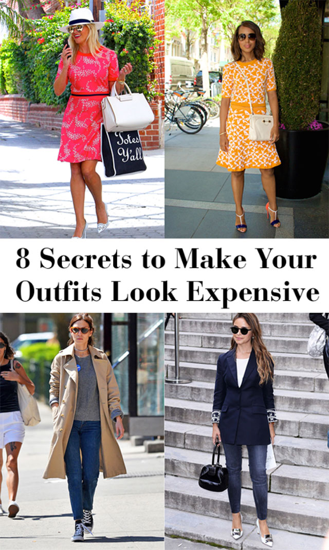 Here are 8 secret styling tips to make your outfits look more expensive.