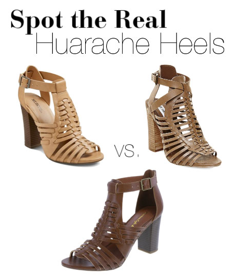 Can you guess which heels cost the most?