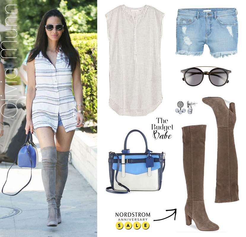 Get Olivia Munn's summer outfit for less.