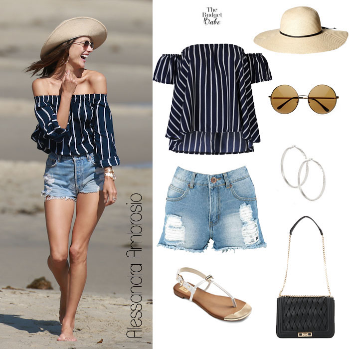 Alessandra Ambrosio Look for Less