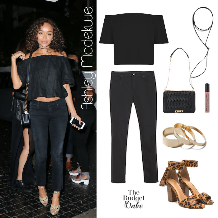 Ashley Madekwe Look for Less