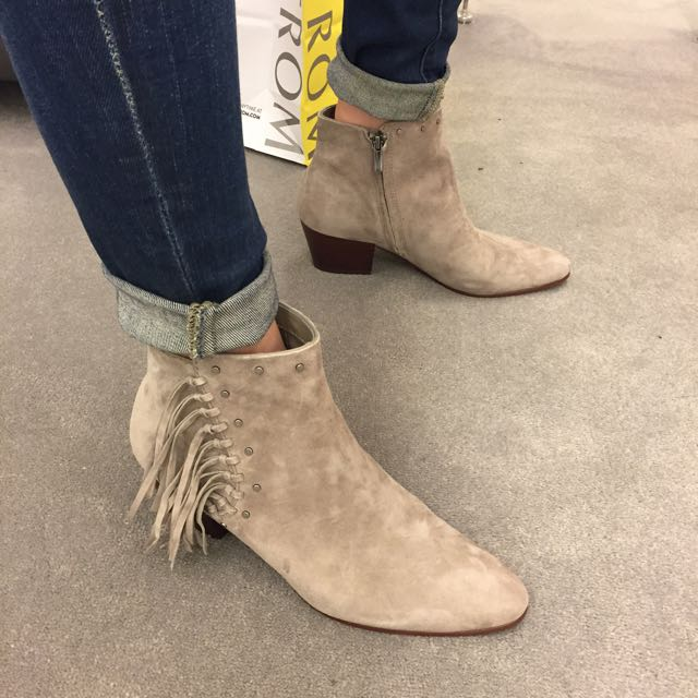 3bb562b37 These dressing room pics will help you shop the Nordstrom Anniversary Sale  . Let s talk about these booties for a moment  The Sam Edelman  Rudie   Studded ...