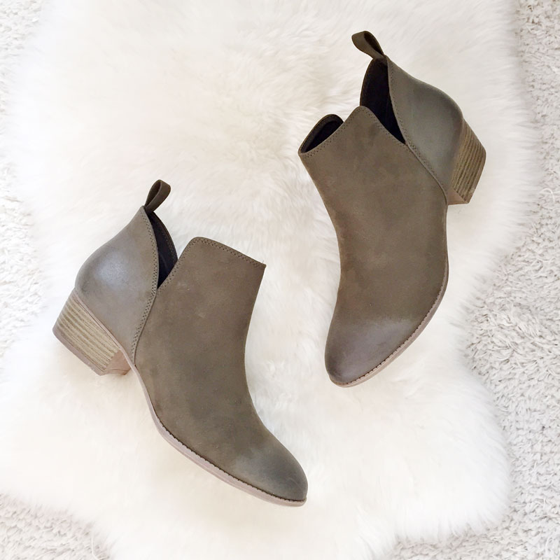 Payless 'Max' ankle boots are perfect for fall.