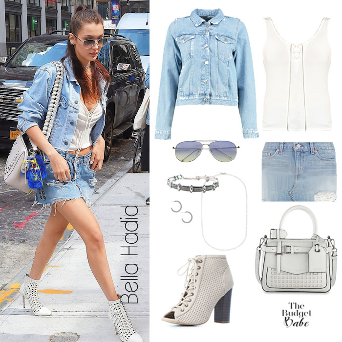 Bella Hadid Look for Less