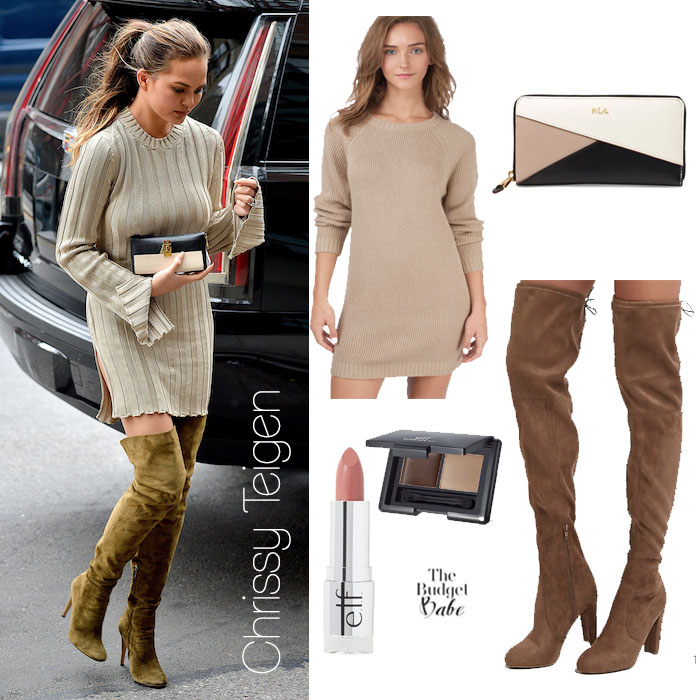 Chrissy Teigen Look for Less