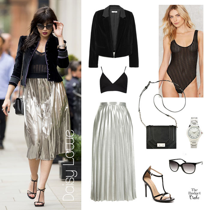 Daisy Lowe Look for Less