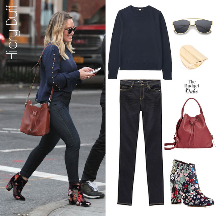 Hilary Duff Look for Less