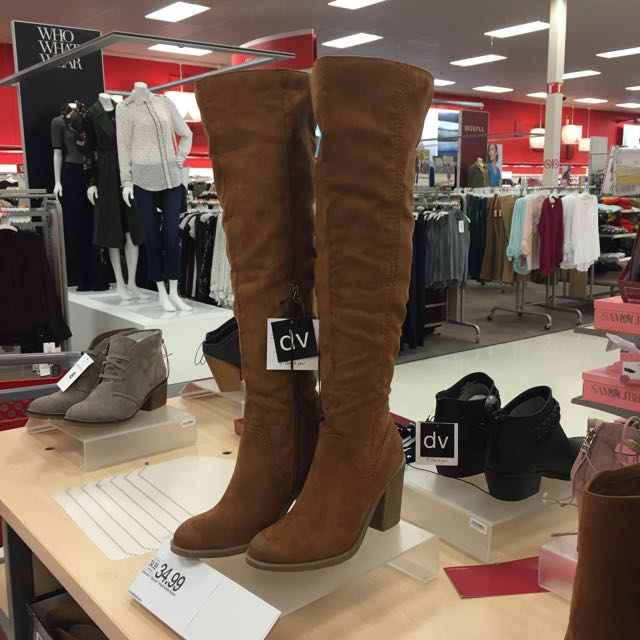 See in-store pics of the new fall boots at Target