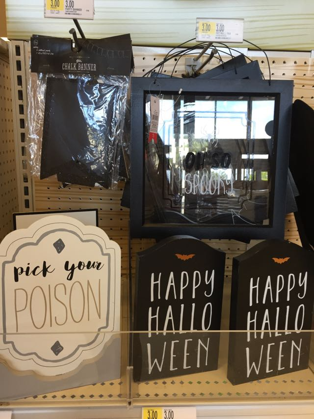 Target Dollar Bins See In Store Pics Of The Latest Halloween Decor,Cool Diy Halloween Decorations For Outside