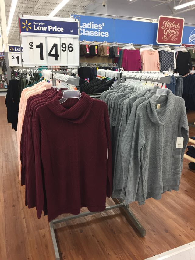 Walmart fall fashion highlights