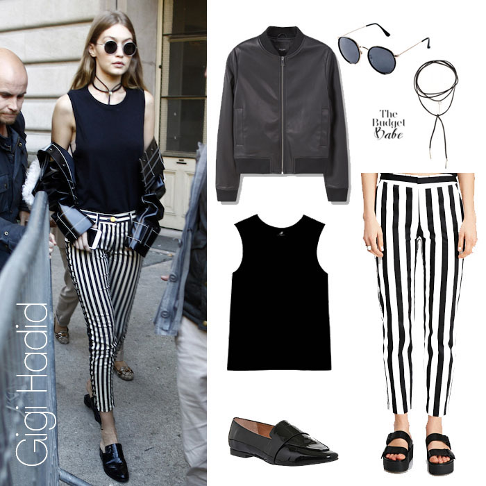 Gigi Hadid Look for Less