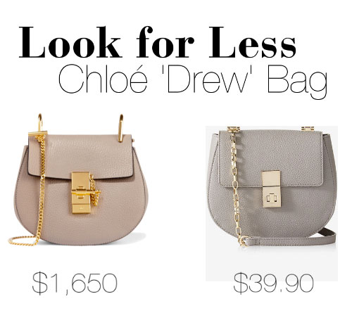 Chloe 'Drew' Bag Dupe at Express is a perfect lookalike for less!