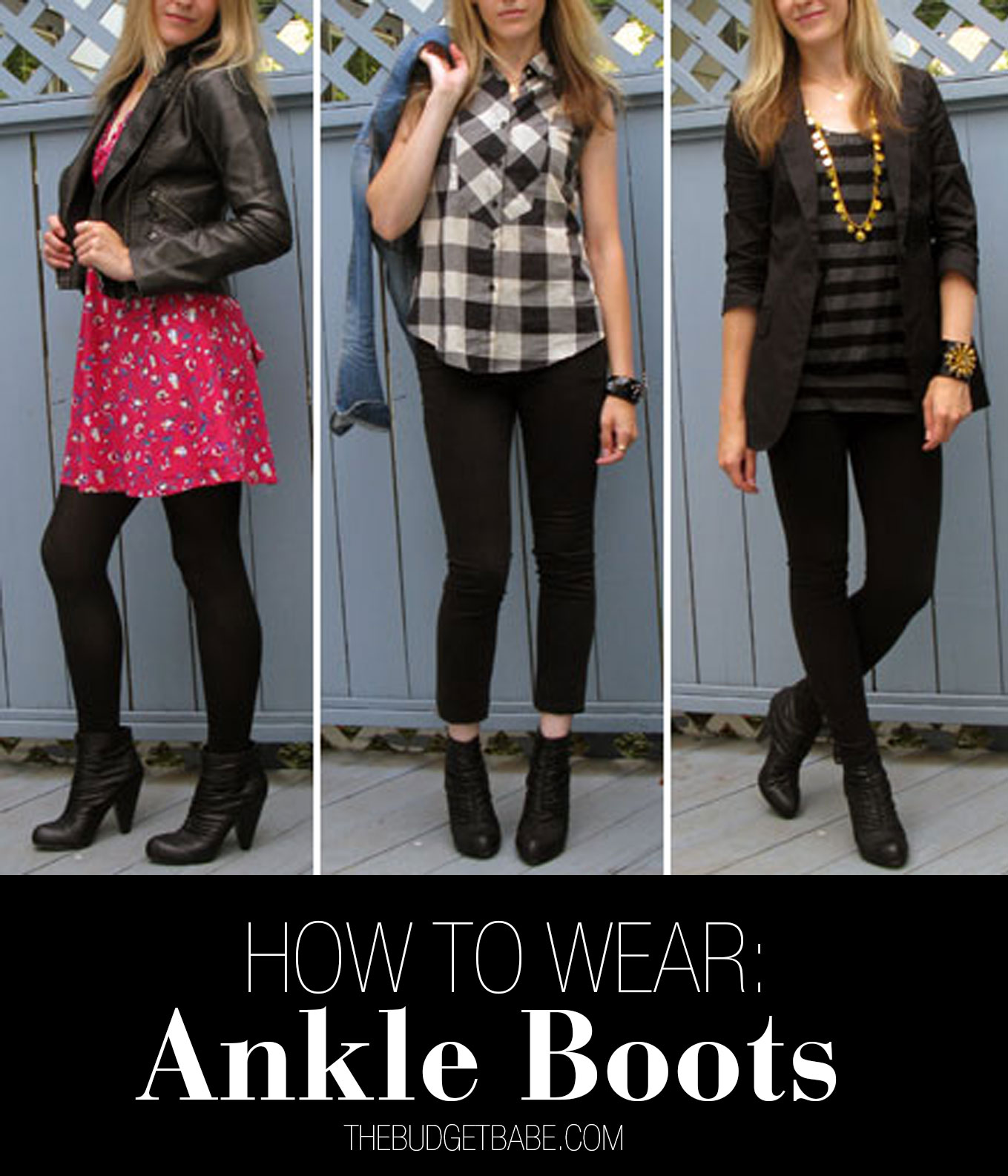 2df335641e9 Three Ways to Wear Ankle Boots - The Budget Babe