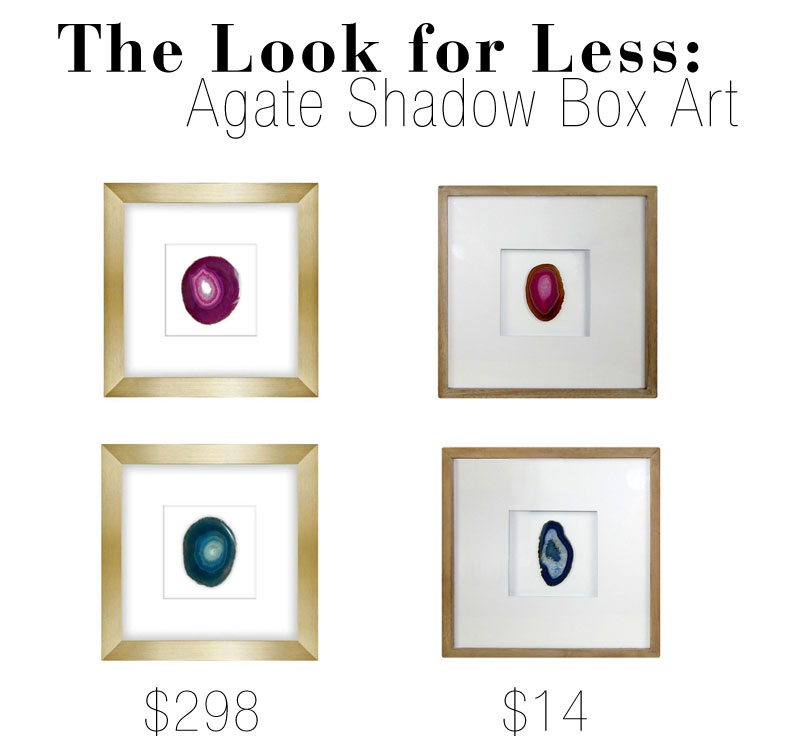Agate makes beautiful framed art.