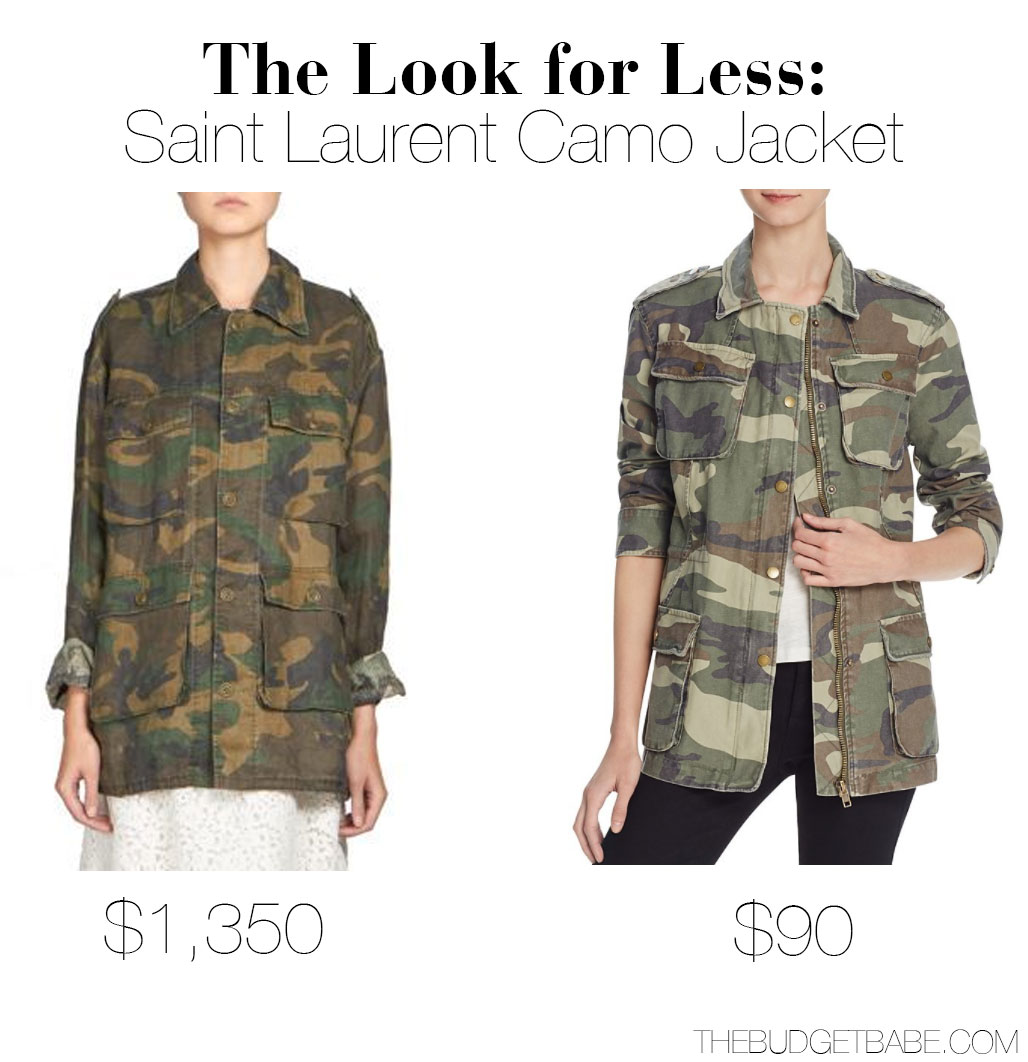 Saint Laurent Jacket Look for Less