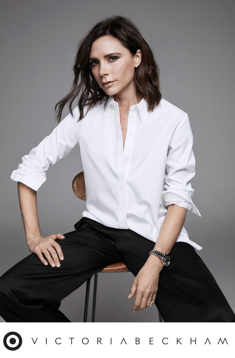 Victoria Beckham is designing a collection for Target coming this spring.