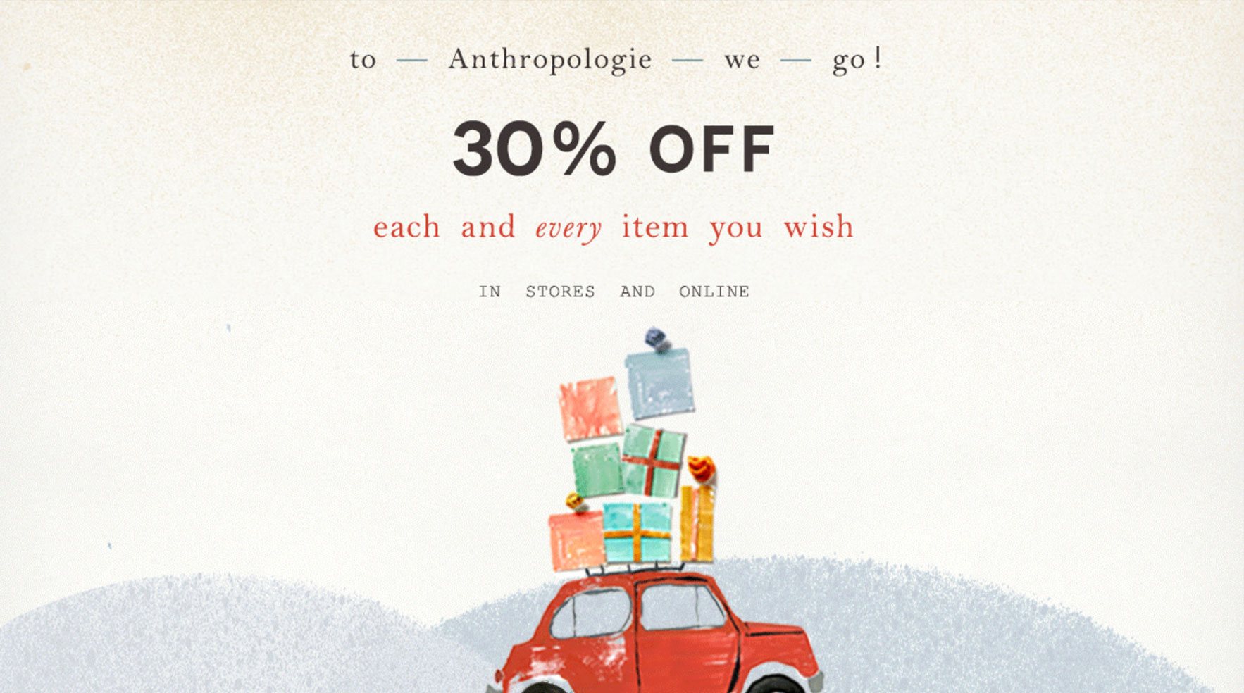 Anthropologie Black Friday Sale
