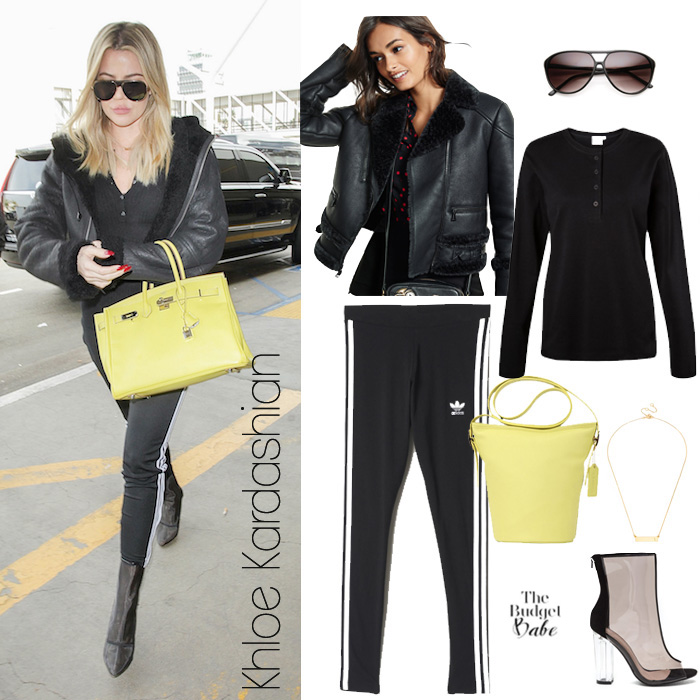 Khloe Kardashian Look for Less
