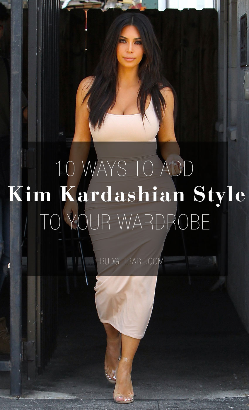 Here are affordable ways to get Kim Kardashian's expensive style.