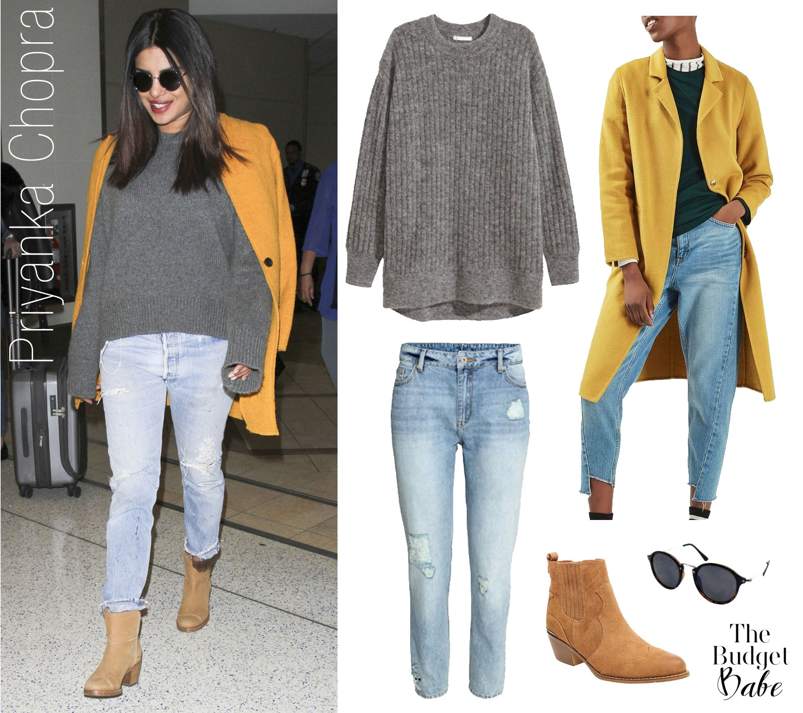 Priyanka Chopra's casual cool airport style