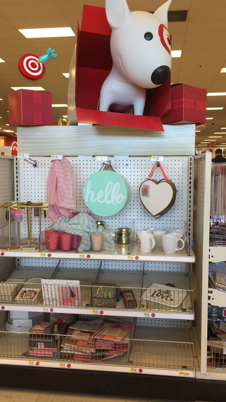 Valentine's Day is back in the Target Dollar Spot.