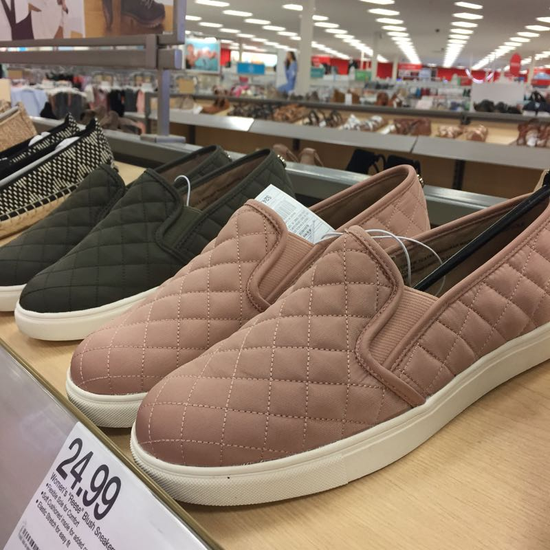 the rack shoes arrive at target and they are