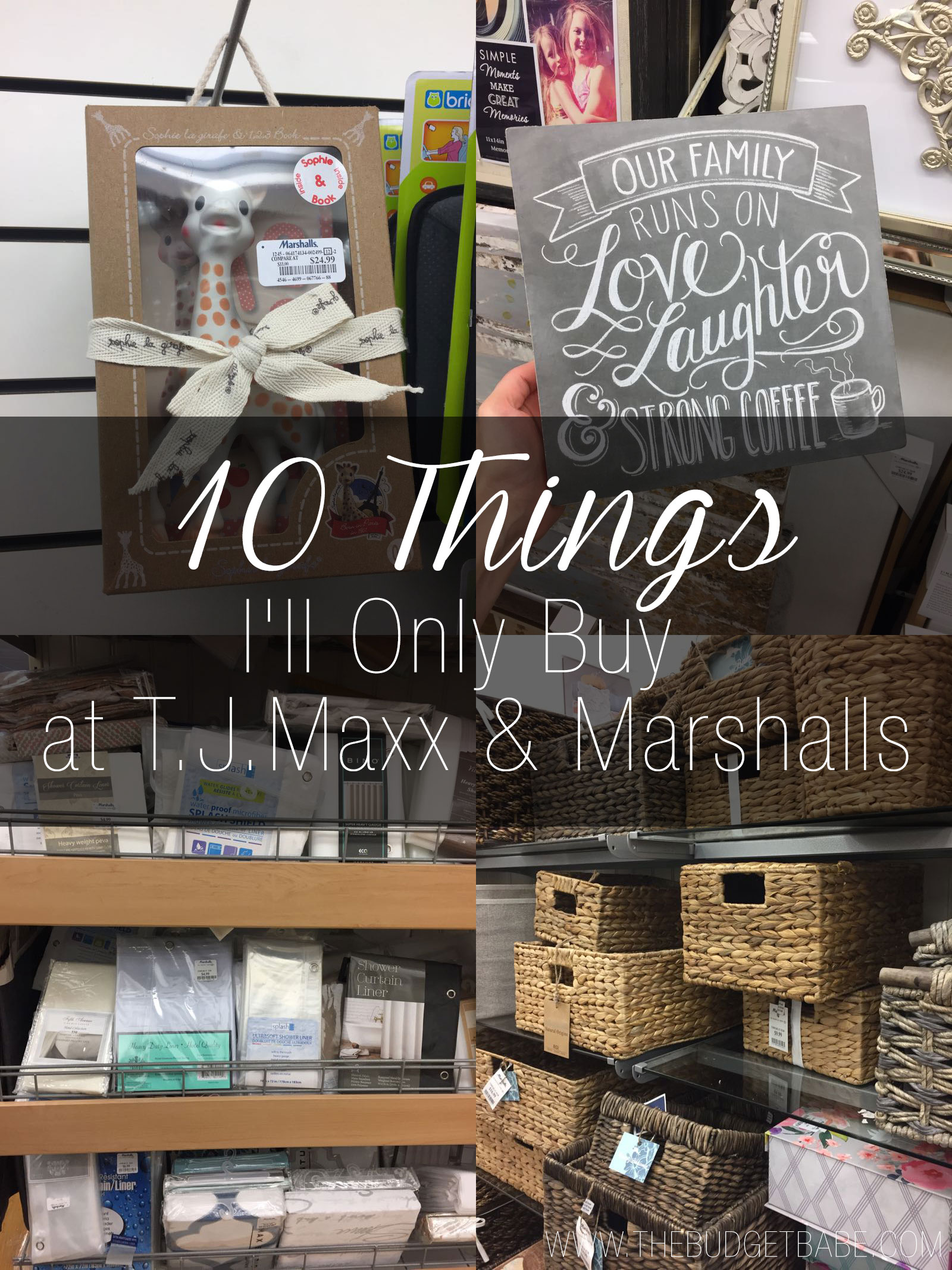 9f88f874b041 10 Things I'll Only Buy at T.J.Maxx and Marshalls We all have our favorite  ...