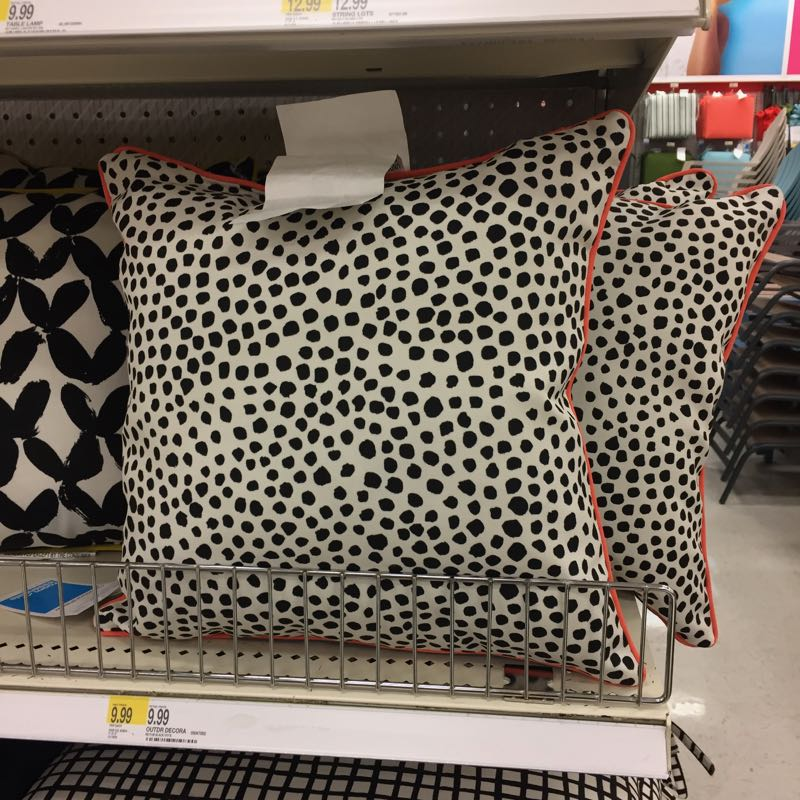 Outdoor decor at Target