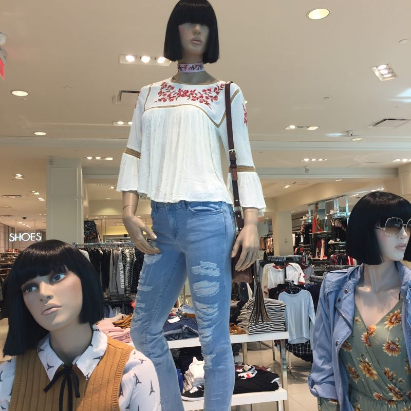 Forever 21 fashions are in for spring.