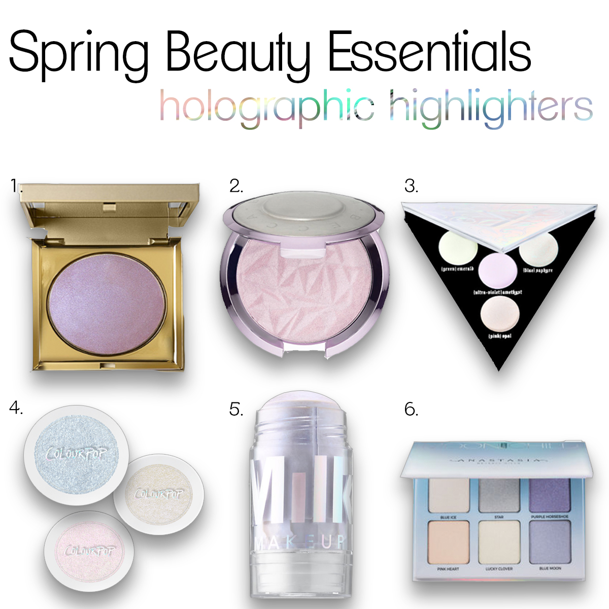Holographic Highlighters