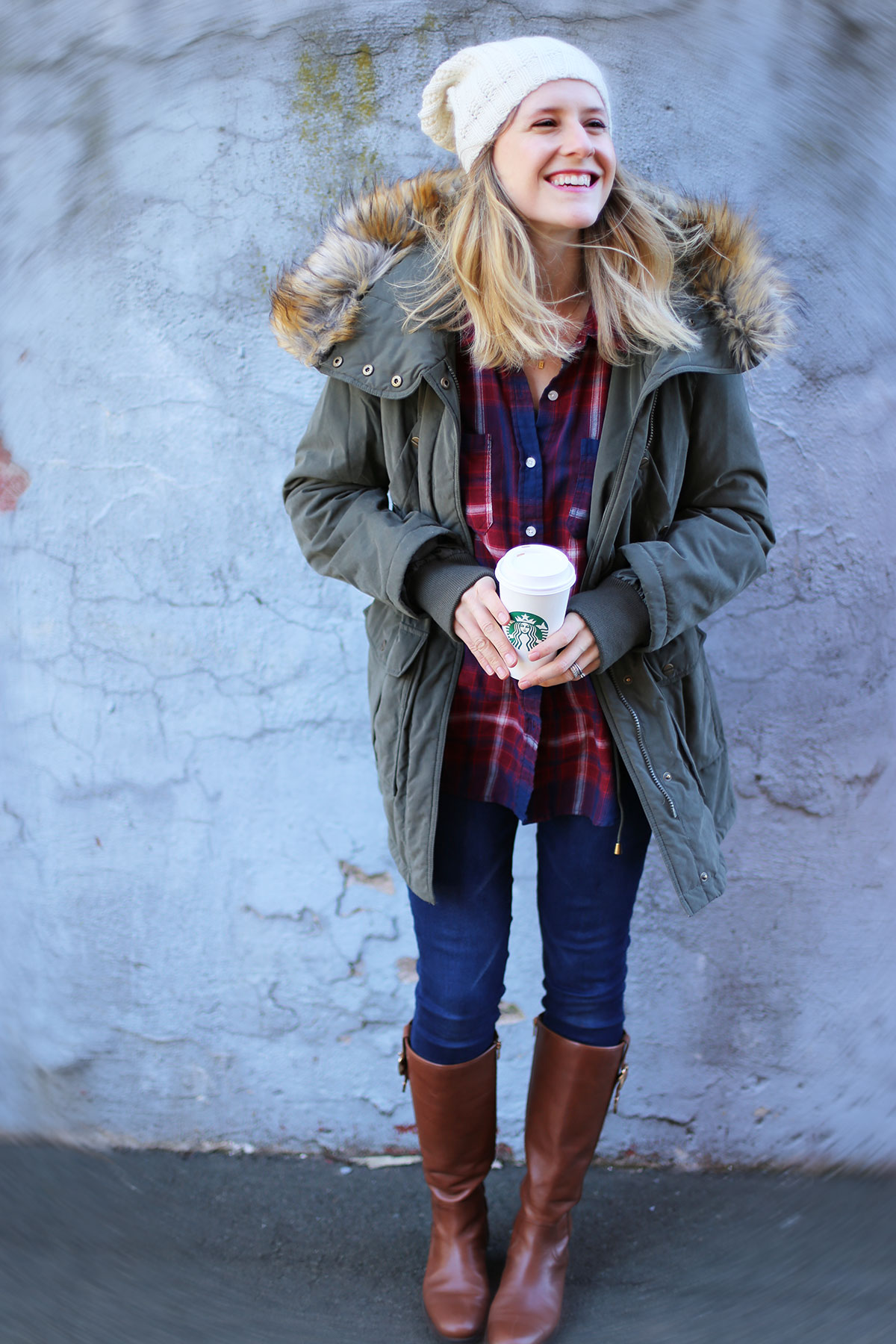 See how to style a parka for winter