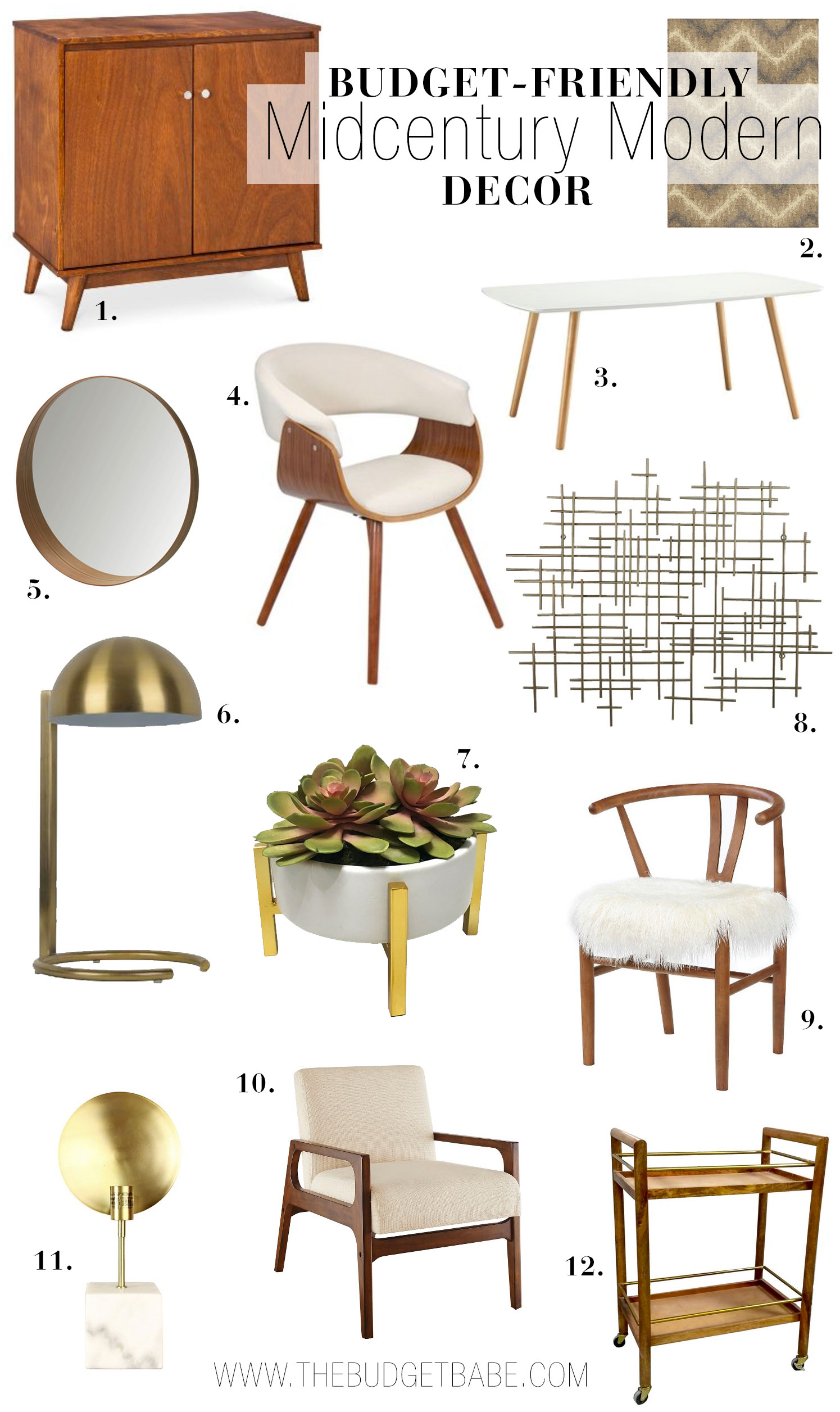 Where to Buy Budget Friendly Midcentury Modern Decor The  : wheretobuybudgetmidcenturymoderndecor1 from www.bloglovin.com size 1495 x 2512 jpeg 393kB