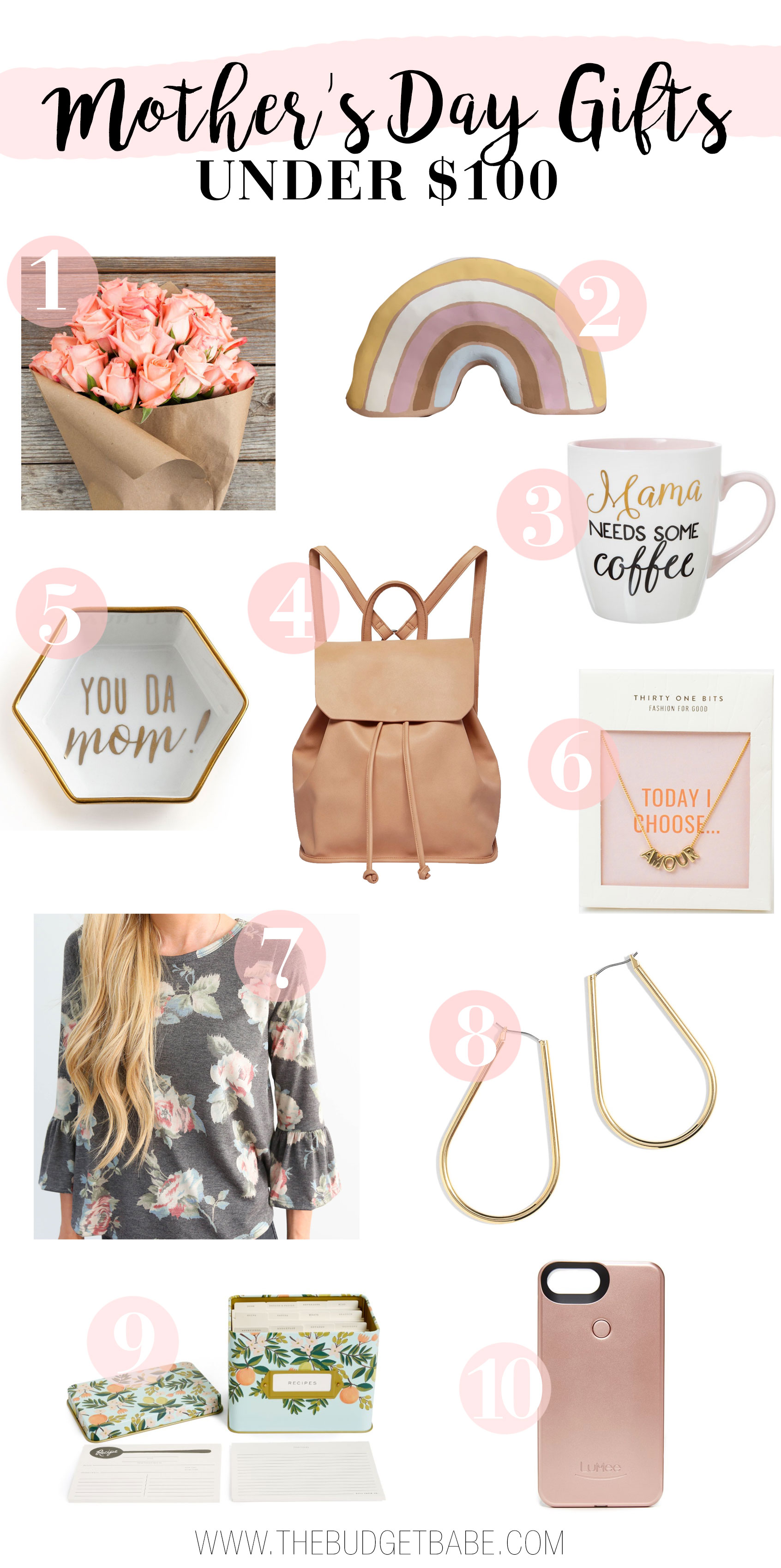 Looking for the perfect Mother's Day gift? Fashion blogger Dianna Baros puts together the perfect guide with finds from just $5.99.