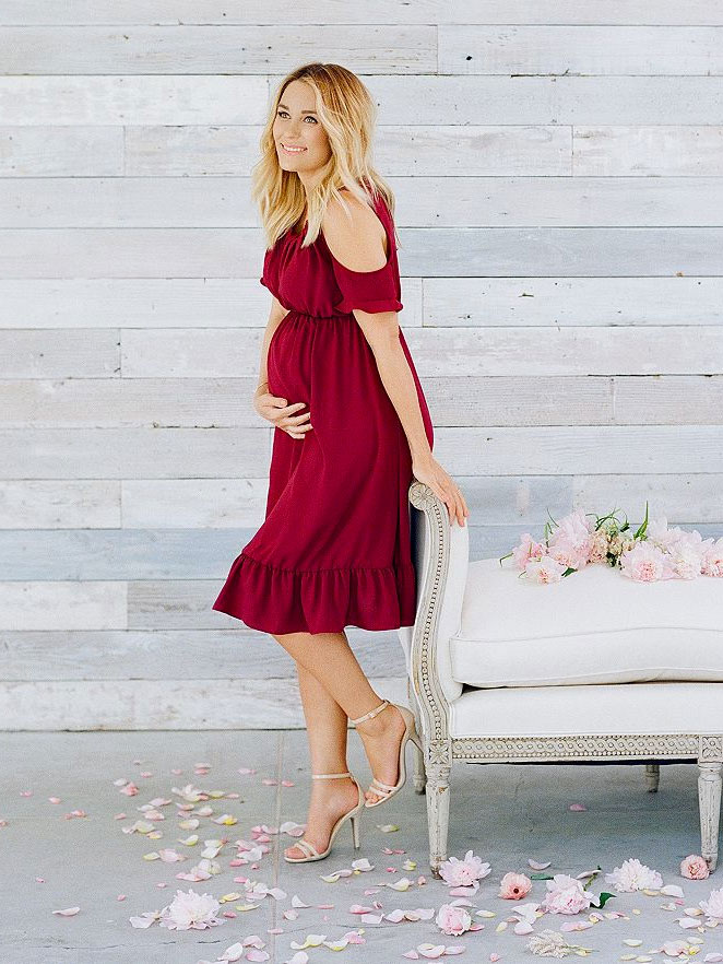 Lauren Conrad launches her maternity fashion line at Kohl's.