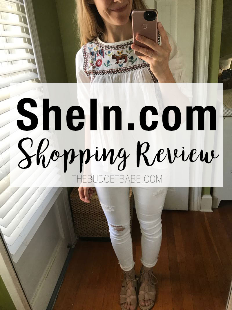 A review of fast-fashion store SheIn.com