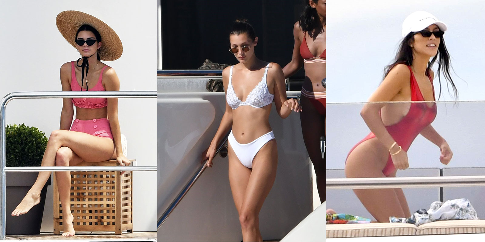 Summer swimwear trends to try include high-waist bikinis, white swimsuits and backless one-piece styles.