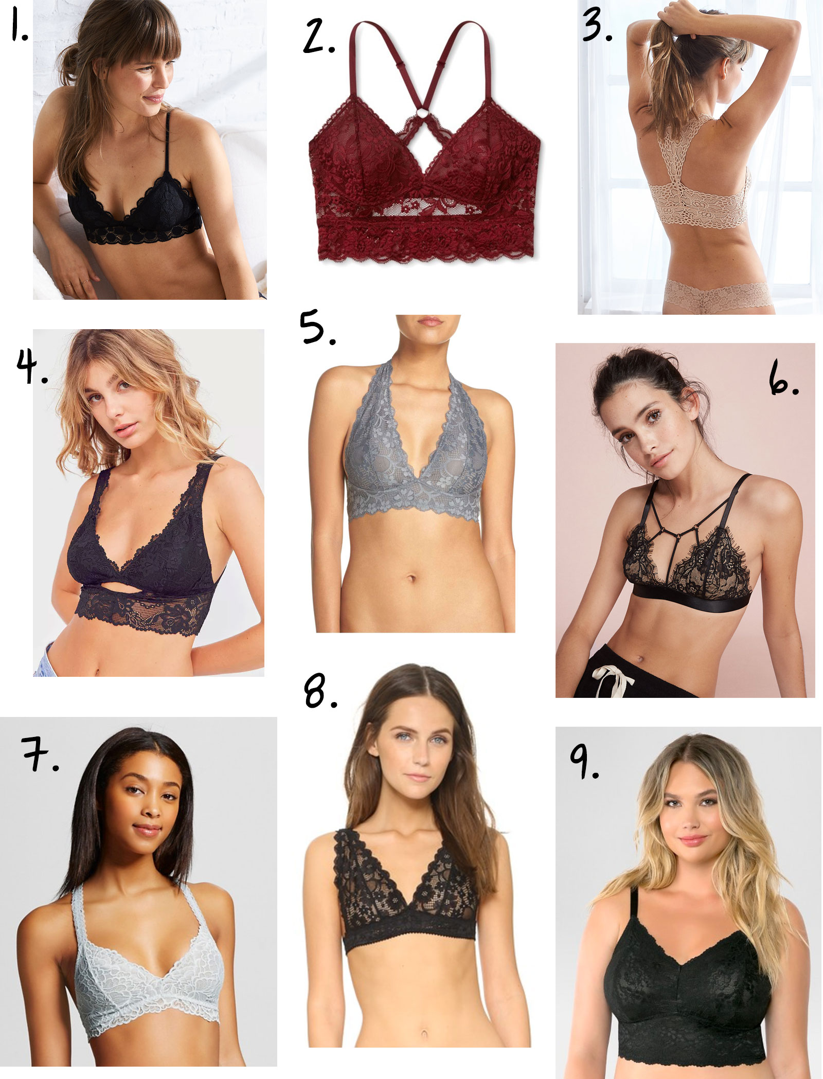 cabdcff5323 9 Pretty Bralettes to Step Up Your Layering Game - The Budget Babe ...