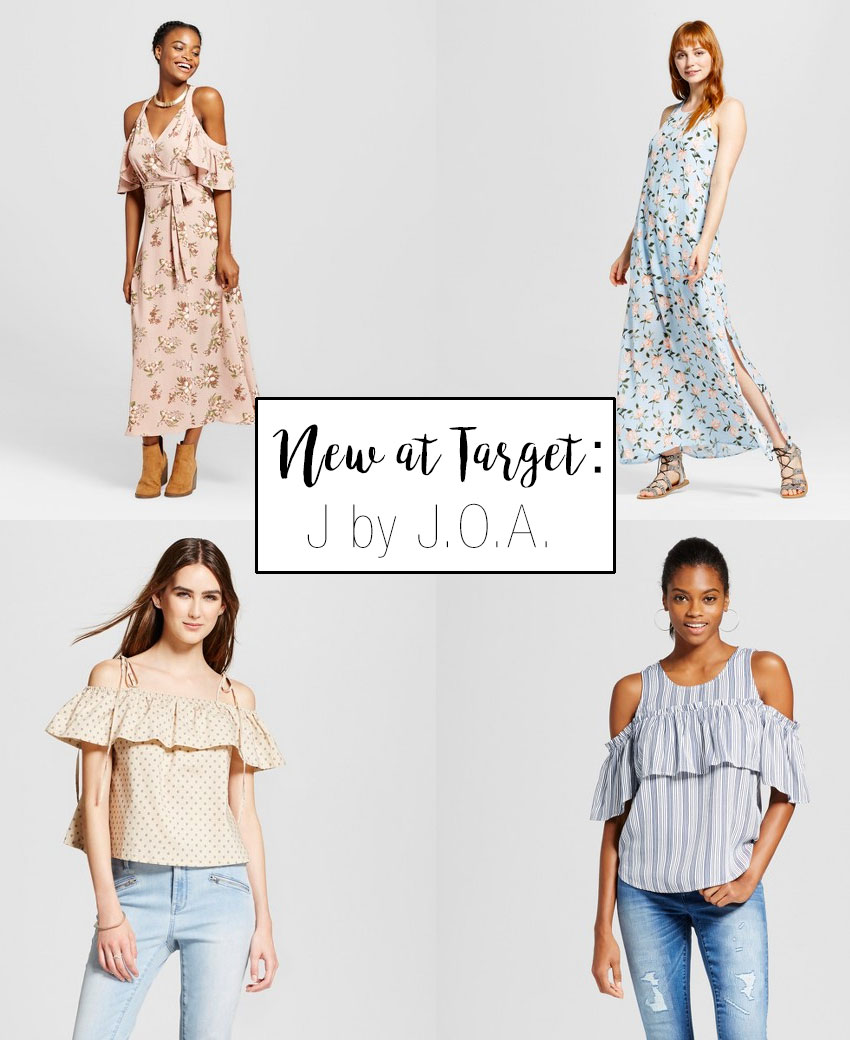 J by J.O.A. is a new fashion line at Target