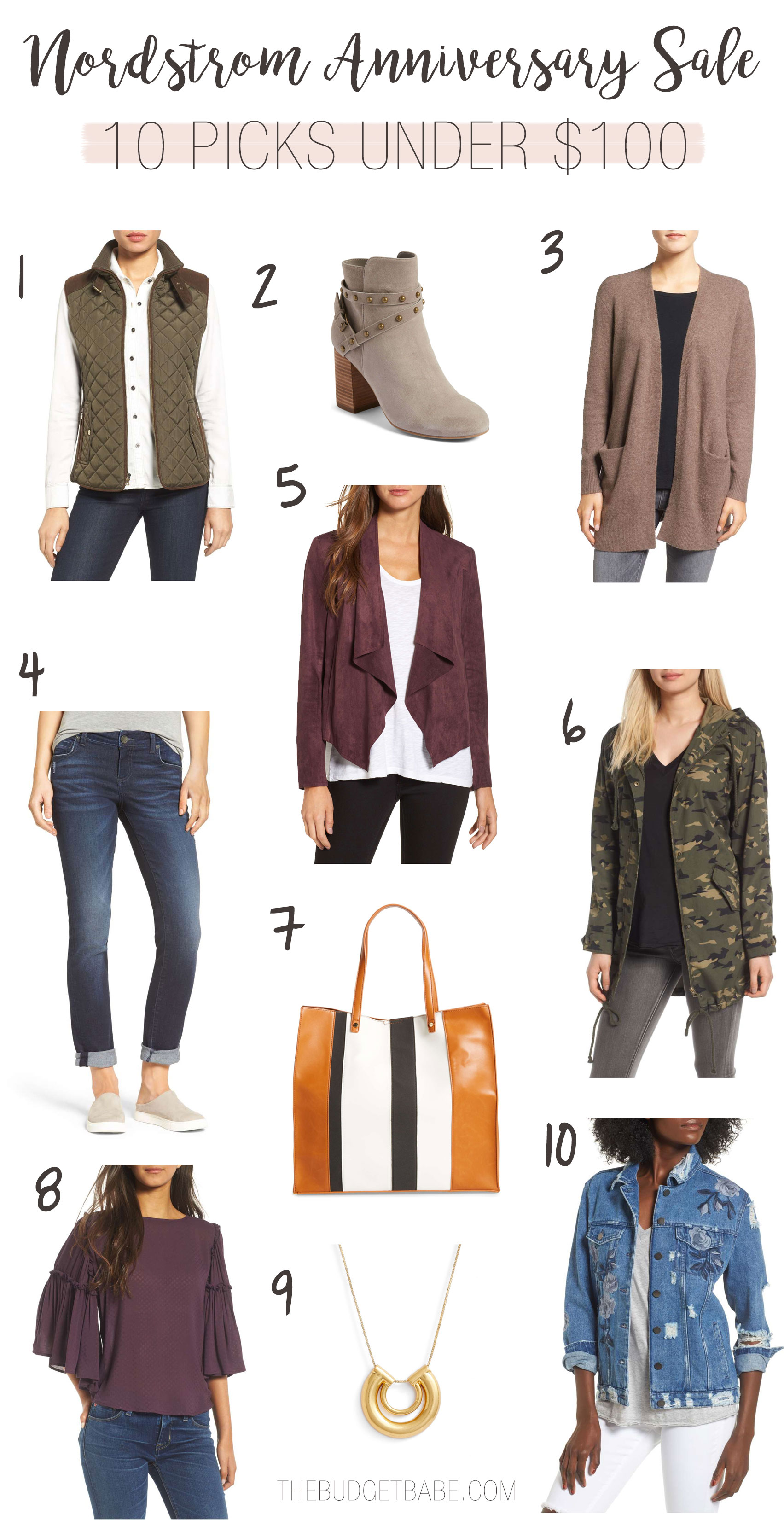 Nordstrom Anniversary Sale 2017 blog picks from The Budget Babe