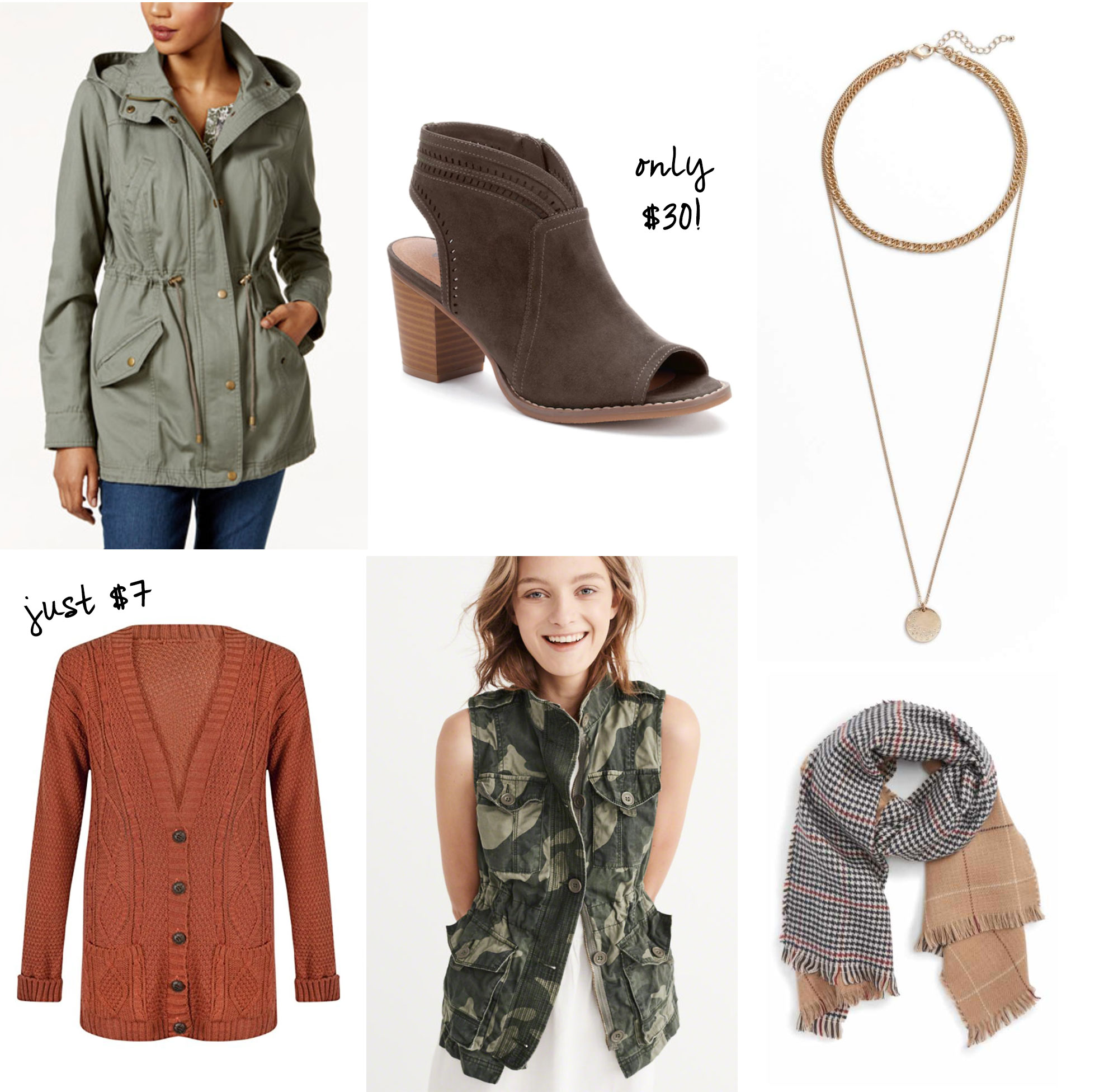 Fall fashion finds from $7!