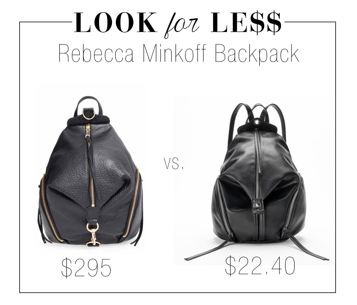 Get the look of Rebecca Minkoff's 'Julian' backpack for less.