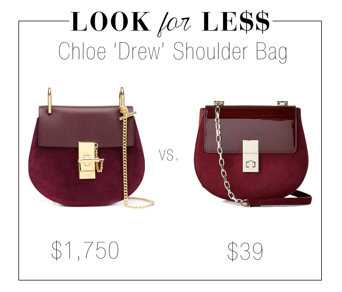The Chloe 'Drew' bag is the perfect It bag for fall 2017.