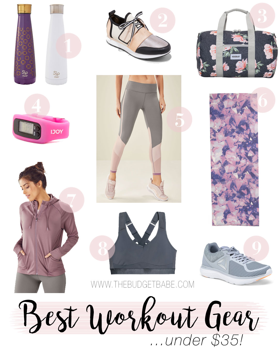 Where to shop for the best workout gear on a budget
