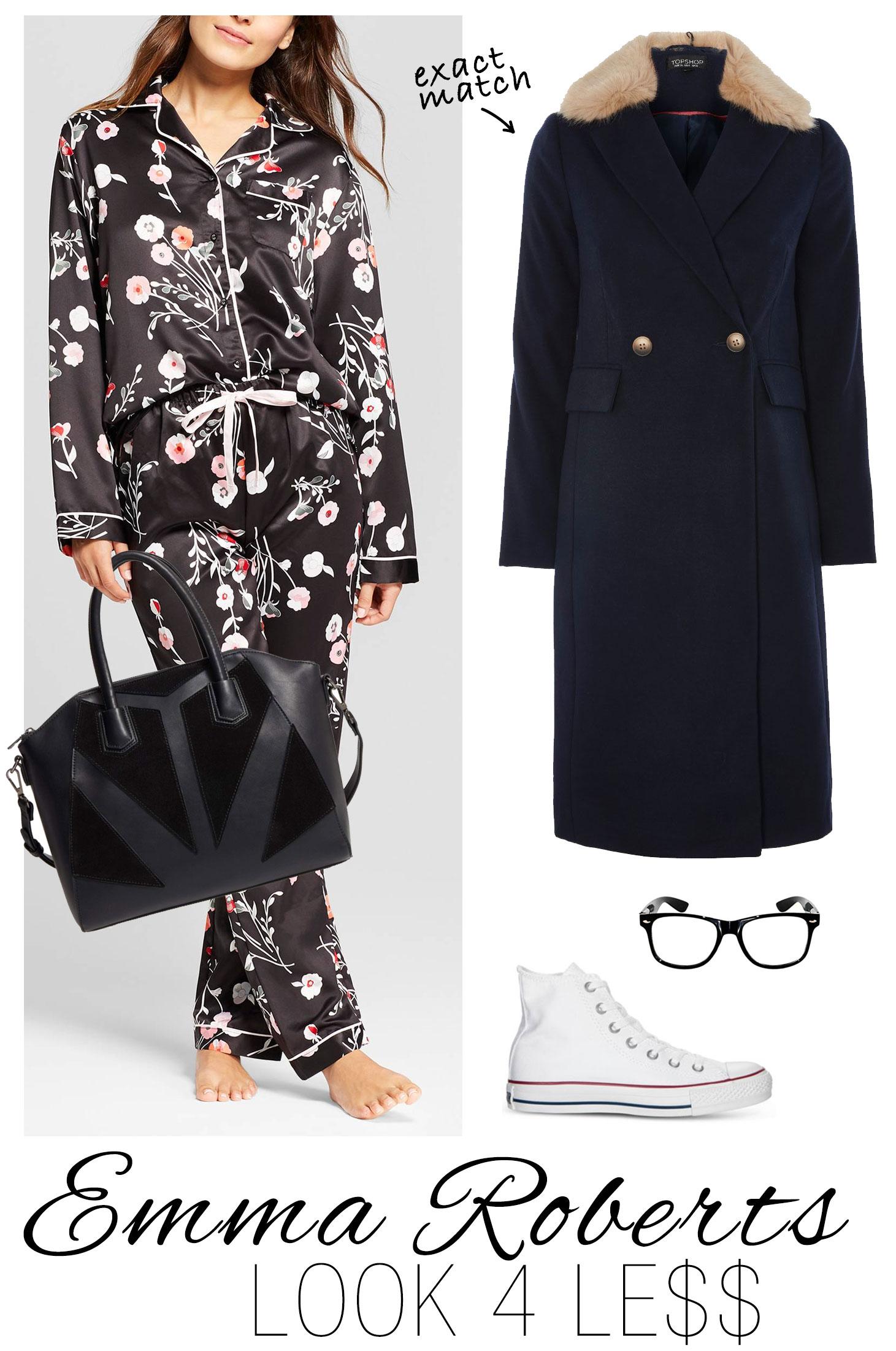 Emma Roberts' Topshop Pajamas and