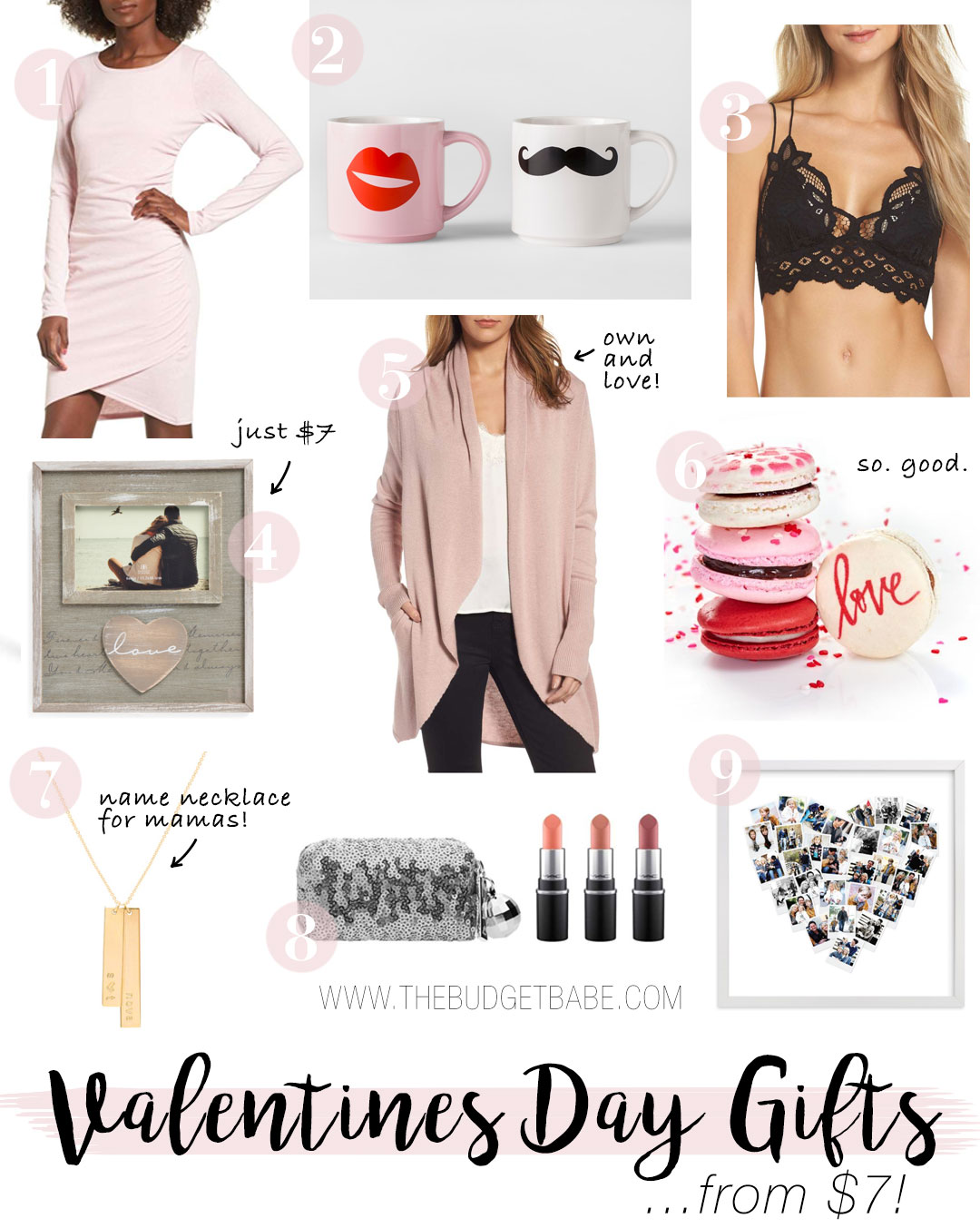 Valentine's Day gift guide from The Budget Babe
