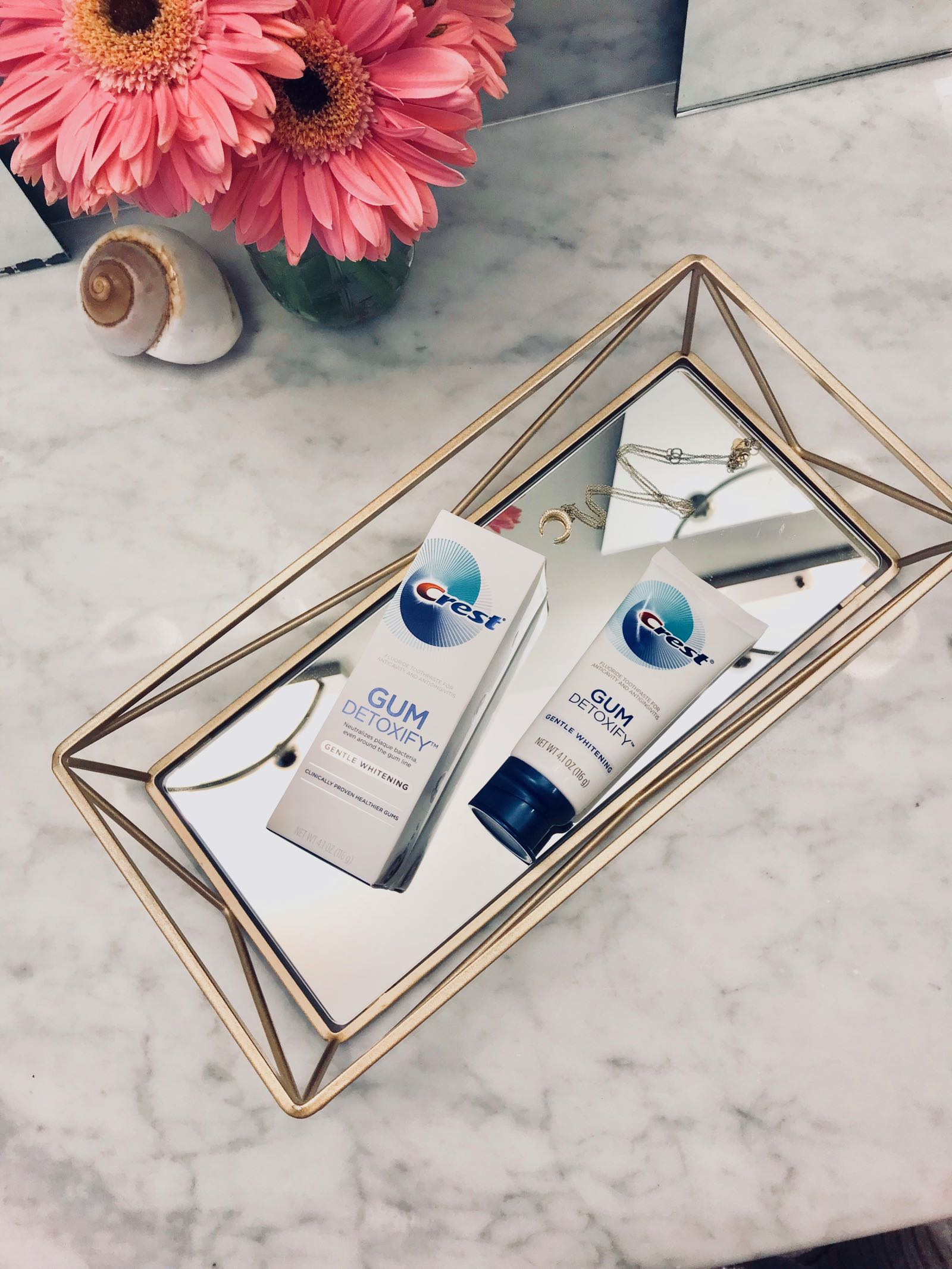 Save $1 on new Crest Gum Detoxify Toothpaste, available at Target! Leaves gums cleaner and healthier #forgumssake #ad